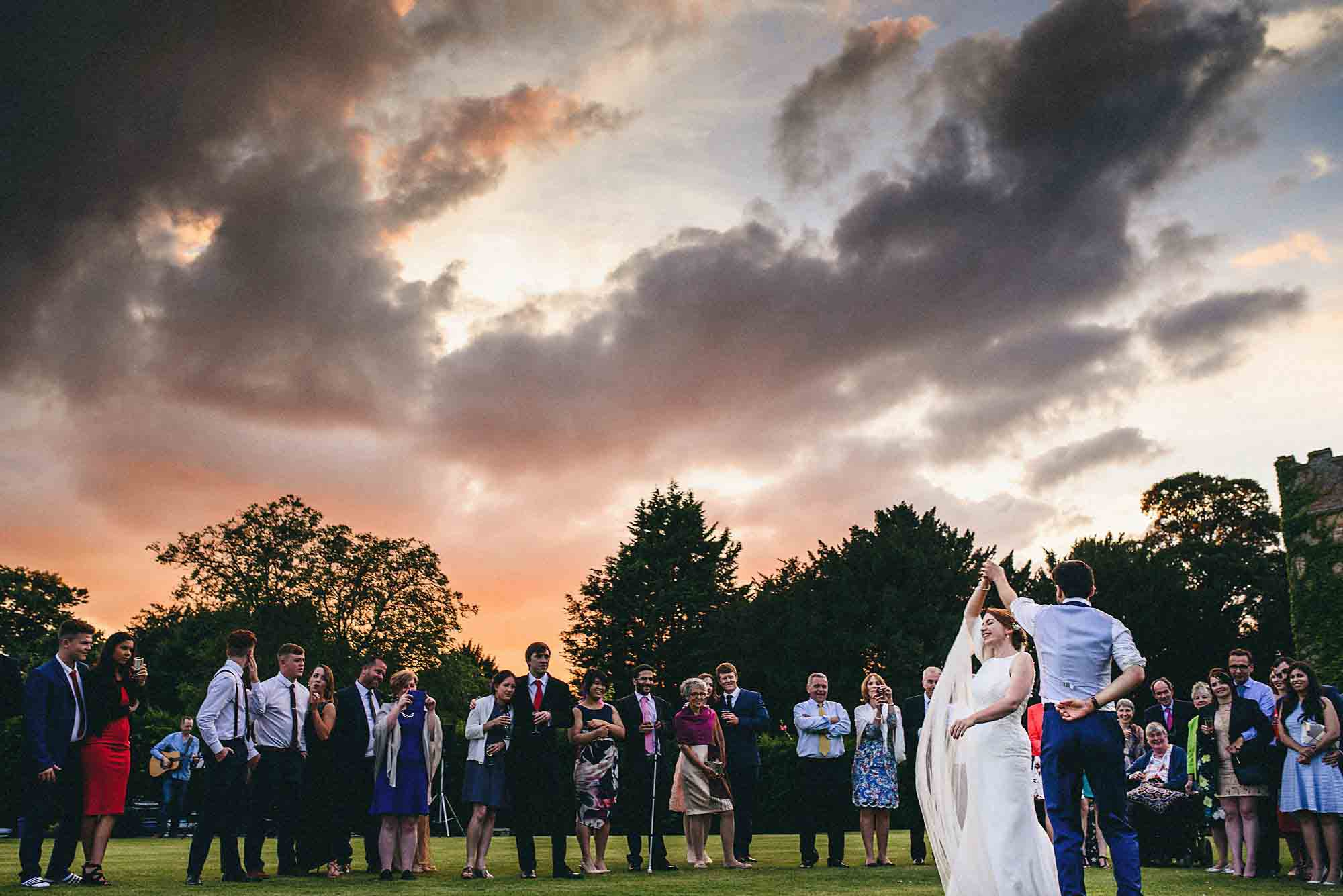 Narborough Hall Gardens wedding photography 46 Completed