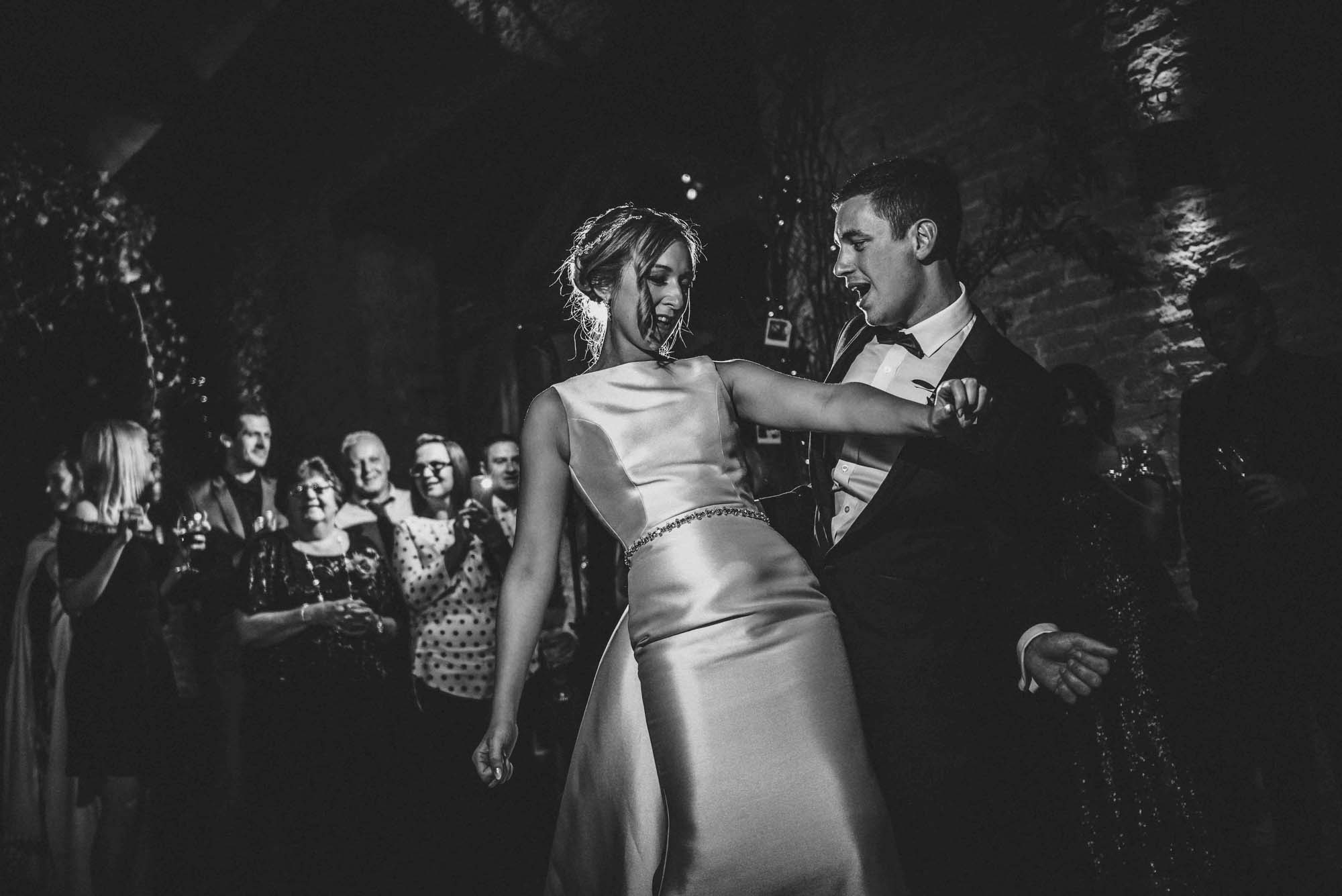 First Dance Photo at Cripps Barn Wedding