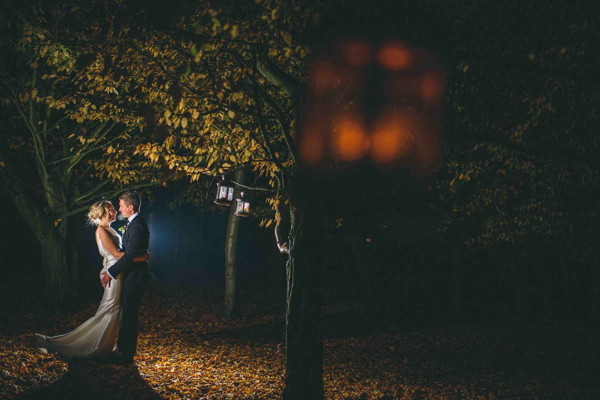 Winter Wedding at Cripps Barn Wedding Photo