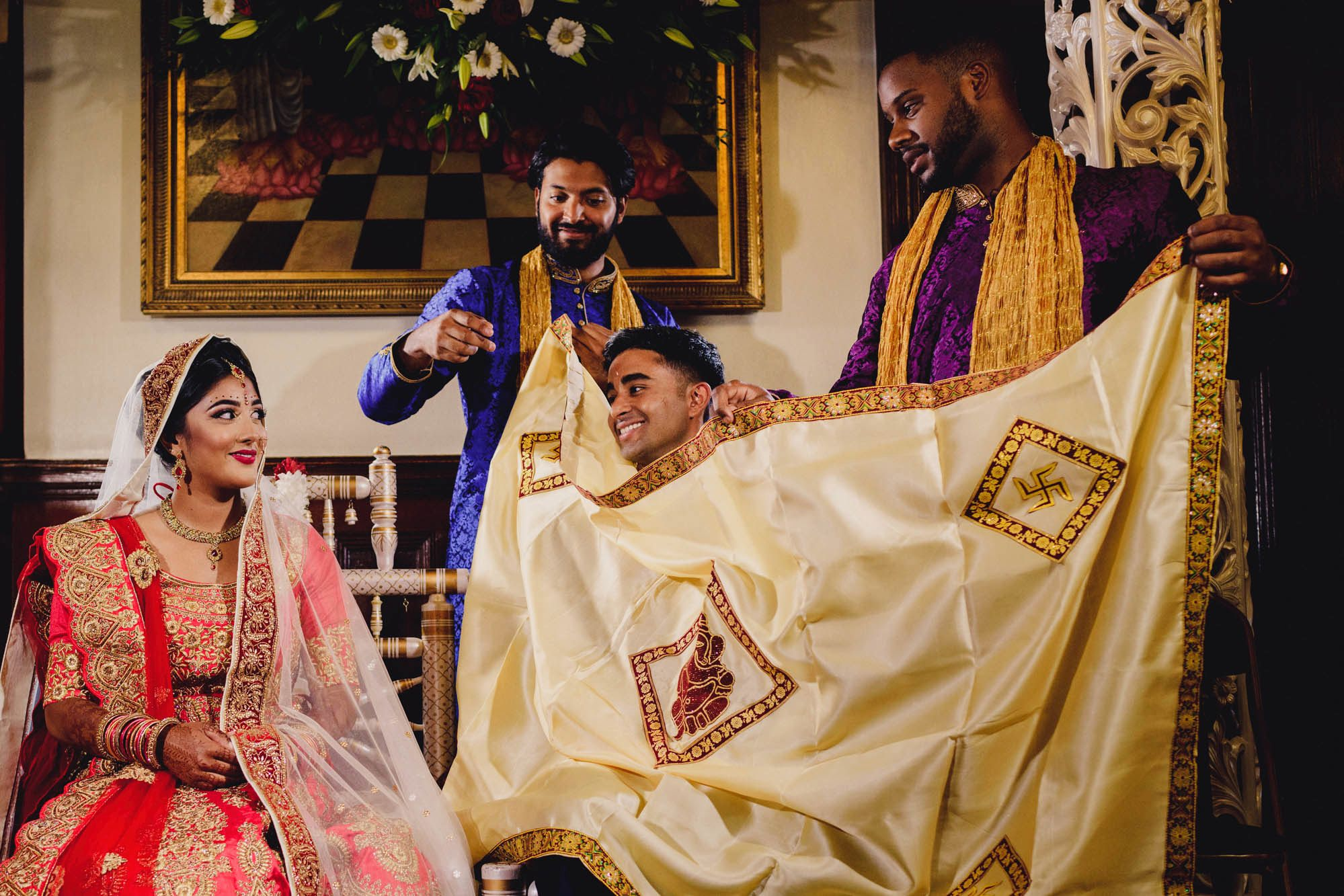 Bhaktivedanta Manor Wedding Photography and Film
